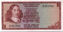 South Africa 1 Rand 1966 - Jan Van Riebeeck - Rams