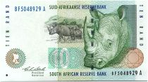 South Africa 10 Rand White rhinoceros - 2005
