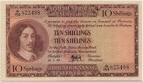 South Africa 10 Shillings 1958 - Jan Van Riebeeck - Arms