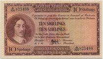 South Africa 10 Shillings 1958 - Jan Van Riebeeck - Arms