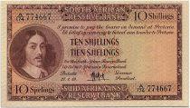 South Africa 10 Shillings 1959 - Jan Van Riebeeck - Arms
