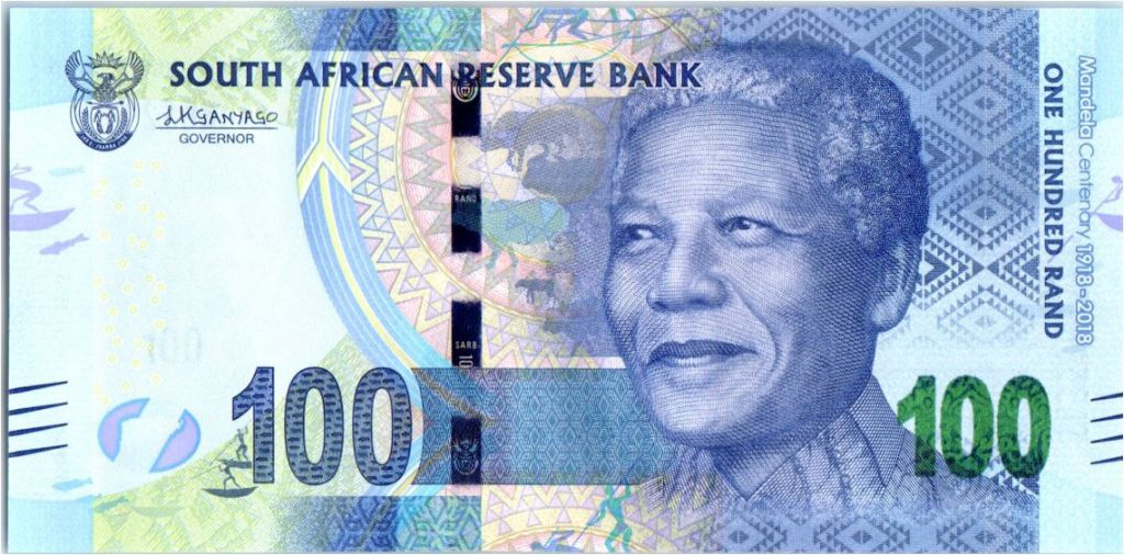 South Africa 100 Rand Nelson Mandela - Centenary 1918-2018