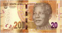 South Africa 20 Rand  - Nelson Mandela - Centenary 1918-2018