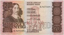 South Africa 20 Rand 1990-93 - Jan Van Riebeeck - Sailing ships