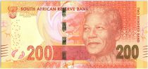 South Africa 200 Rand Nelson Mandela - Leopards - 2014