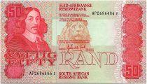 South Africa 50 Rand 1984  - Jan Van Riebeeck - Local Animals
