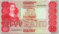 South Africa 50 Rand 1990  - Jan Van Riebeeck - Local Animals