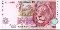 South Africa 50 Rand 1992 - Lion - Refinery