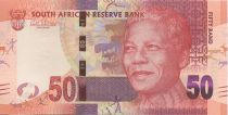 South Africa 50 Rand Nelson Mandela - Lions