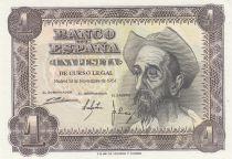 Spagna 1 Peseta 1951 - Don Quichote - Letter Q or H