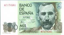 Spagna 1000 Pesetas Benito Pérez Galdos - 1979