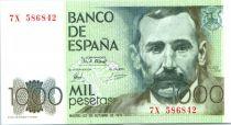 Spagna 1000 Pesetas Benito Pérez Galdos