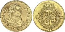 Spain 1/2 Escudo Charles III - Arms 1788  M - Gold