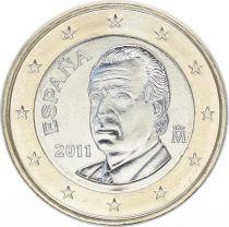 Spain 1 Euro Juan Carlos I - 2011