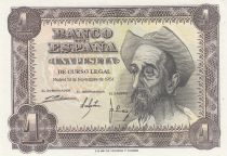 Spain 1 Peseta 1951 - Don Quichote - Letter Q or H