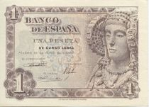 Spain 1 Peseta Dame of Elche