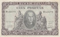 Spain 100 Pesetas - Christopher Colombus - 1940 - VF - P.118