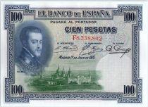 Espagne 100 Pesetas - Felipe II  - 1925
