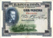 Spain 100 Pesetas - Felipe II - VF various serial - 1925