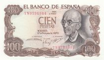 Spain 100 Pesetas Manuel de Falla - 1970
