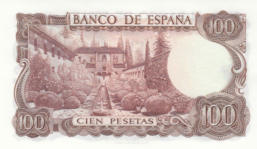 Spain 100 Pesetas P-152 1970 UNC