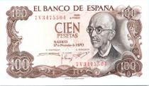 Spain 100 Pesetas Manuel de Falla