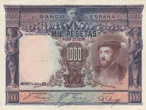 Spain 1000 Pesetas Carlos I - 1925 - XF - P.70