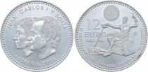 Spain 12 Euros Juan Carlos and Sofia - Don Quichotte 2005