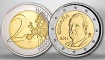 Spain 2 Euros Juan Carlos I - 2011