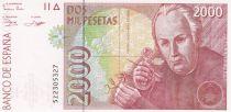 Spain 2000 Pesetas  - José Celestino Mutis - 1992 (1996) without serial