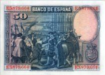 Spain 50 Pesetas  - D. Vélasquez - 1928