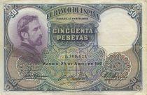 Spain 50 Pesetas E. Rosales - 1931