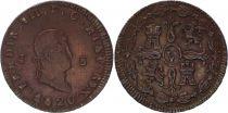 Spain 8 Maravedis Ferdinand VII - Arms - 1820