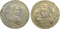 Spain Luis I - Medal of Proclamation - Sevilla - 1724 - Silver