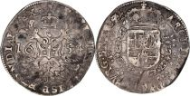 Spanish Netheralnds 1/4 Patagon Arms - Bruxelles 1654