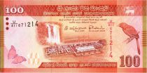 Sri-Lanka 100 Rupees 2015 -  Oiseau - Danseurs