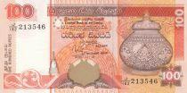 Sri-Lanka 100 Rupees Jarre - Perroquets - 1995 - P.111 Neuf