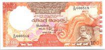 Sri-Lanka 100 Rupees Lion - Parlament - 1988