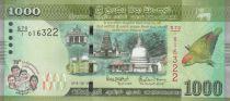 Sri Lanka 1000 Rupees 70 years of Independance 2018 - UNC