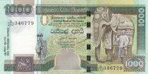 Sri Lanka 1000 Rupees Elephant - Peacock- 2006 - UNC - P.120