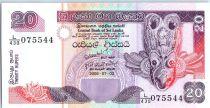 Sri-Lanka 20 Rupees 2006 - Masque de nativité - Pêcheurs