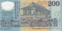 Sri-Lanka 200 Rupees 1998 50ème Ann indépendance