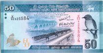Sri-Lanka 50 Rupees 2010 -  Oiseau - Danseurs