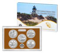 Stati Uniti d\'America Beautiful Quarters Proof set 2018 - 5 coins