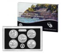 Stati Uniti d\'America Beautiful Quarters Silver Proof set 2018 - 5 coins