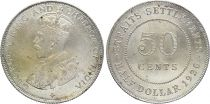 Straits Settlements 50 Cent George V - 1920