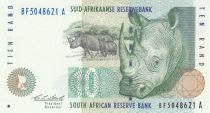 Sud Africa 10 Rand 1993 - Rhinos, Sheep