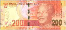 Sud Africa 200 Rand Nelson Mandela - Leopards - 2014
