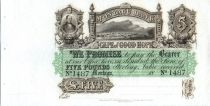 Sud Africa 5 Pounds Town and Mountains - 18xx - Montagu Bank, unissued