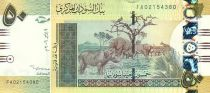 Sudan 50 Pounds Elephants - Cows